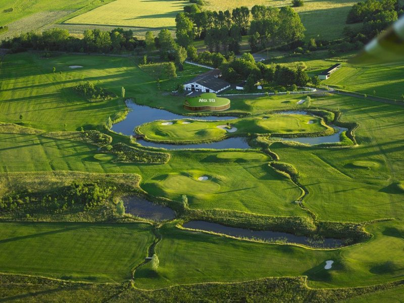 Golfpark Bostalsee Luftnahme