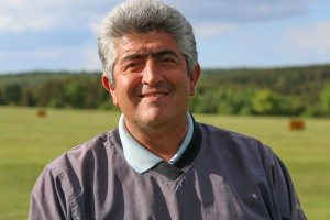 Golflehrer Ismail Sahin